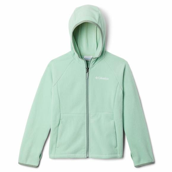 Columbia Kids' Fast Trek II Full-Zip Fleece Hoodie Image