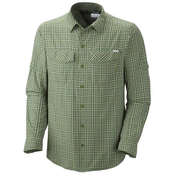 Columbia Men's Silver RIdge Plaid Long Sleeve Shirt (Extended Sizes) Image