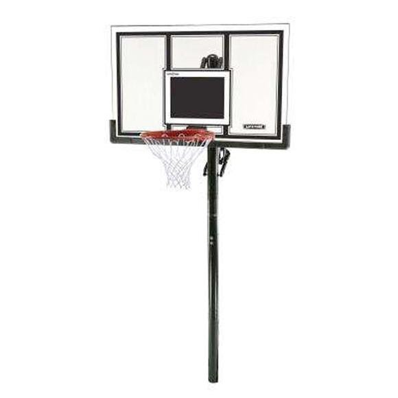 Lifetime Adjustable In-Ground Basketball Hoop (54-Inch Polycarbonate) Image