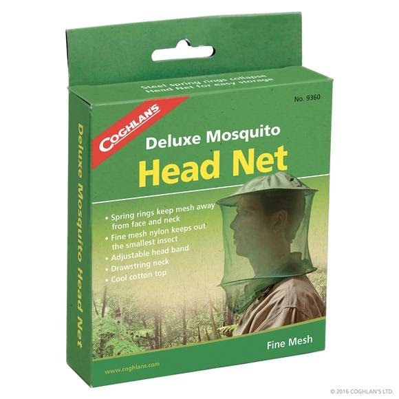 Coghlans Deluxe Mosquito Head Net Image
