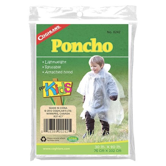 Coghlans Poncho for Kids Image