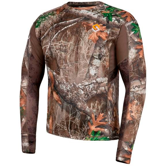 Scent Lok Baselayers AMP Lightweight Top (Extended Sizes) Image