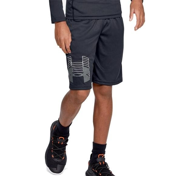 Under Armour Boys' UA Prototype Logo Shorts Image