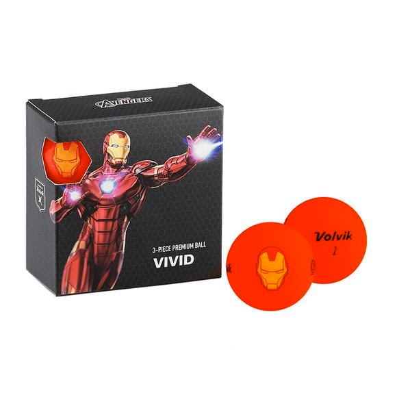 Volvik Marvel 4 Pack Golf Ball Image