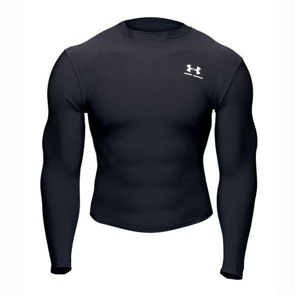 Under Armour Mens ColdGear Long Sleeve Crew Image