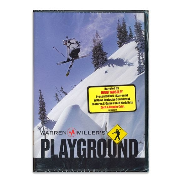 Vas Entertainment Warren Miller`s Playground Ski DVD Image