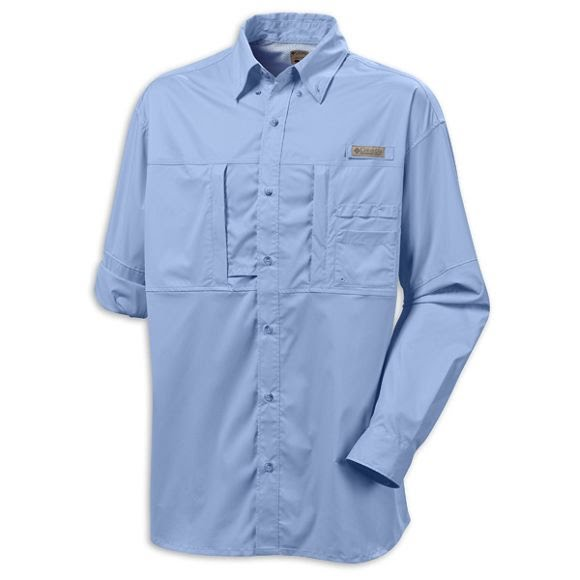 Columbia Mens Freezer Long Sleeve Shirt