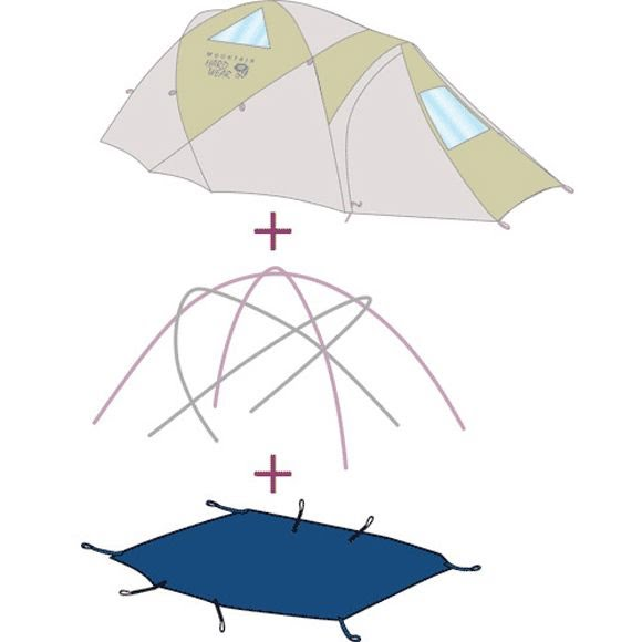 Mountain Hardwear AirJet 2 Tent Footprint (Discontinued) Image