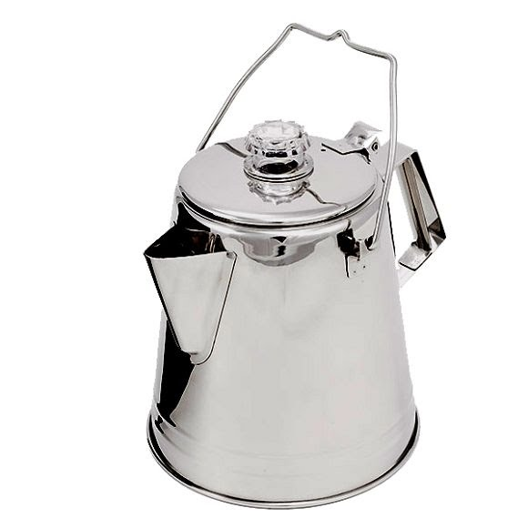 Gsi Outdoors Glacier Stainless 8 Cup Coffee Percolator Image