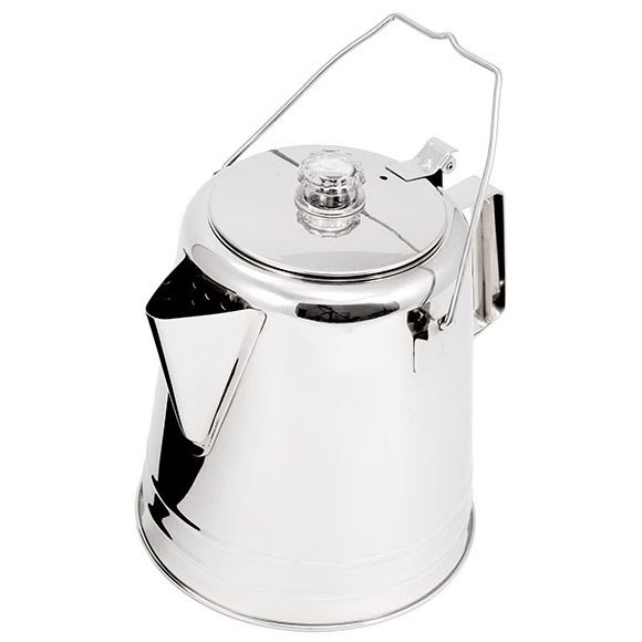 Gsi Outdoors Glacier Stainless 28 Cup Coffee Percolator Image