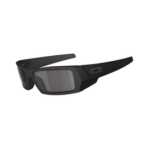 Oakley Gascan Sunglasses (Matte Black/Grey) Image