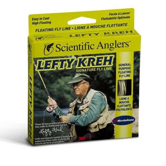 Scientific Anglers Lefty Kreh Signature Series Floating Fly Line- Willow, WF-5-F Image
