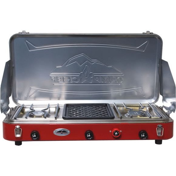 Camp Chef Mountain Series Denali 3 Burner Grill and Stove ...