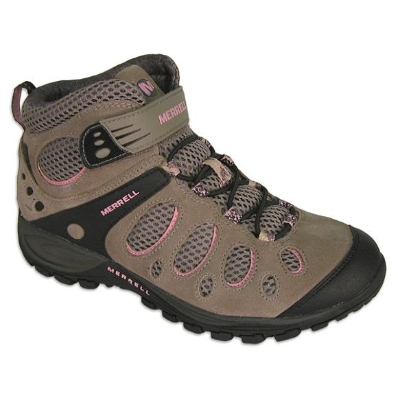 Merrell Youth Chameleon Strap Mid Shoes Image