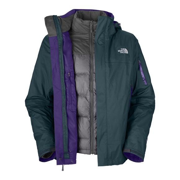 7b6975bbab3 The North Face Mens Galaxy Triclimate Jacket Image