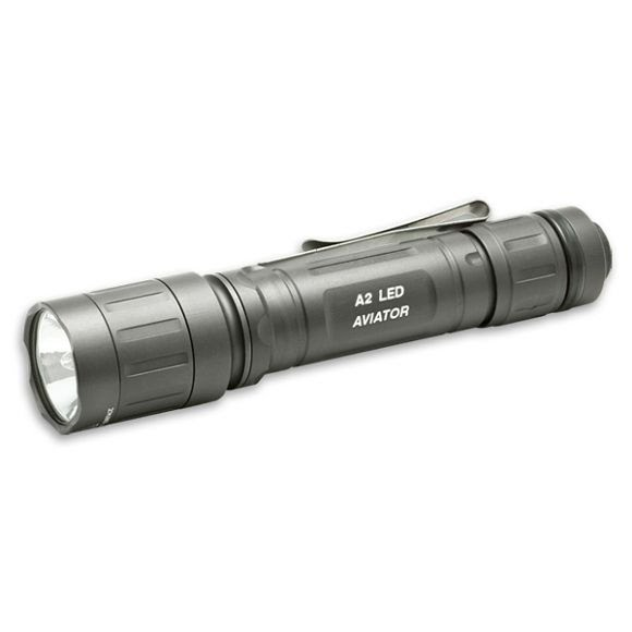 Surefire A2 LED Aviator Dual-Output Dual-Spectrum Flashlight Image