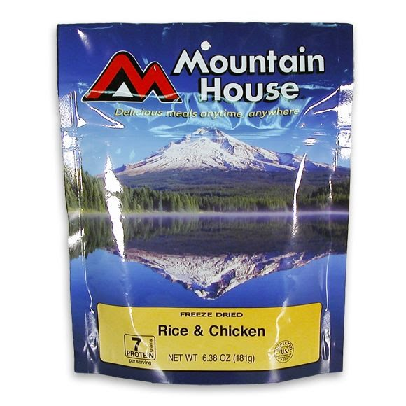 Mountain House Rice and Chicken (Serves 2) Image