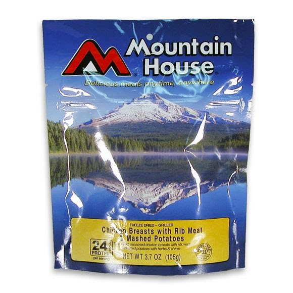 Mountain House Chicken Breast and Mashed Potatoes (Serves 2) Image