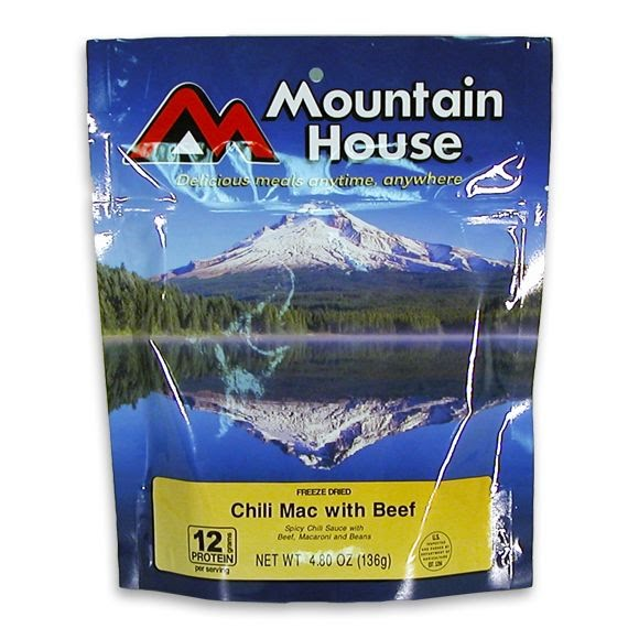 Mountain House Chili Mac with Beef (Serves 2) Image