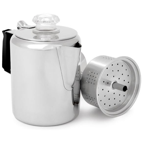 Gsi Outdoors Glacier Stainless 3 Cup Percolator Image