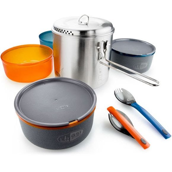Gsi Outdoors Glacier Stainless Dualist Cook Set Image