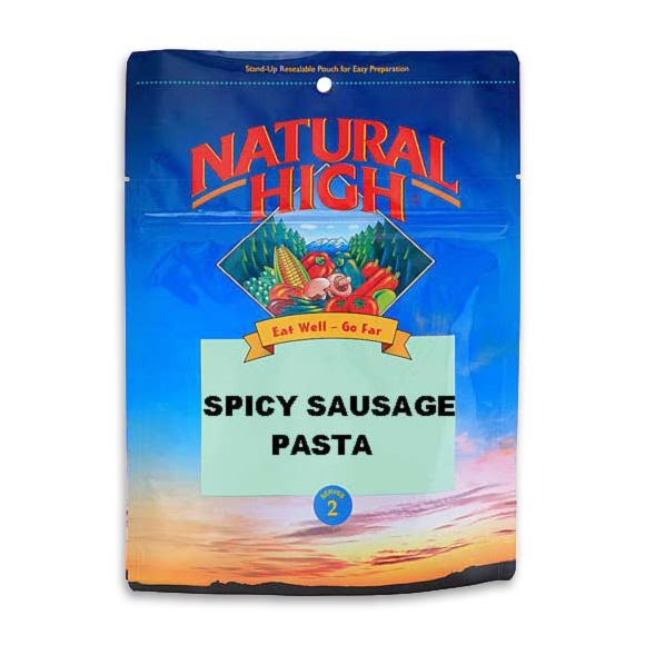 Natural High Spicy Sausage Pasta Image