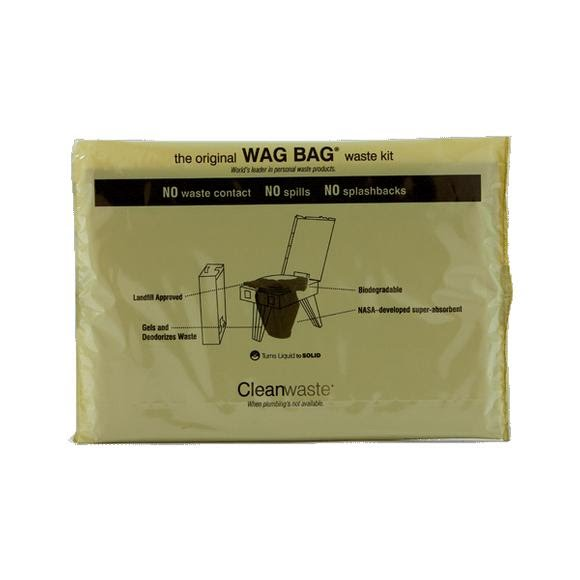 Cleanwaste Wag Bag Waste Kit 50 Pack Image