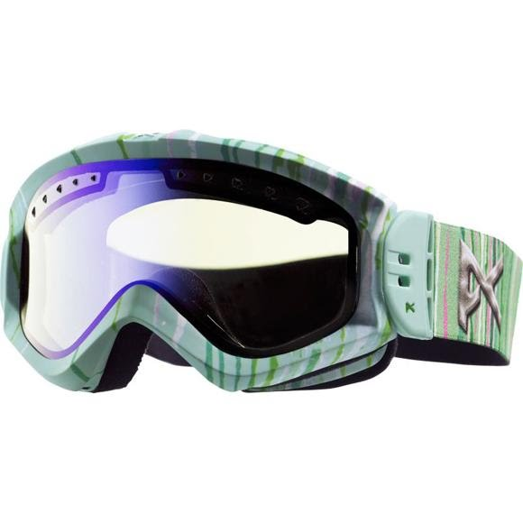 Anon Women`s Majestic Printed Snow Goggle Image