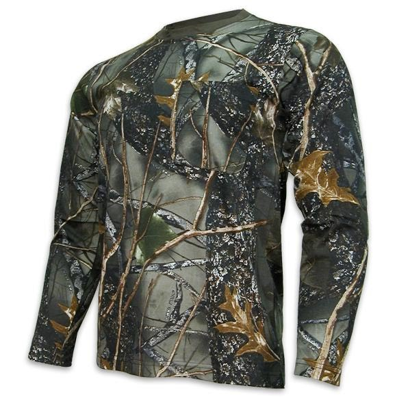World Famous Long Sleeve Camo Shirt Image