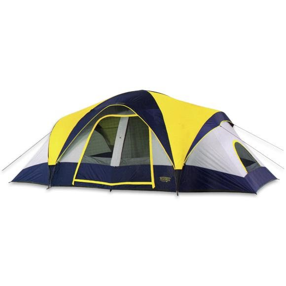 Wenzel Sierra Pass 2 Room Family Dome Tent Image