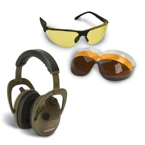Walker's All Sport Glasses and Alpha Power Muff Set Image