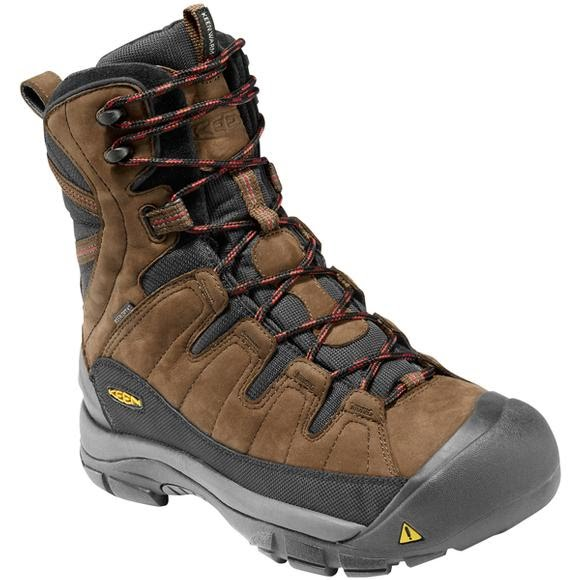 Keen Mens Summit Country Winter Hiking Boot Image