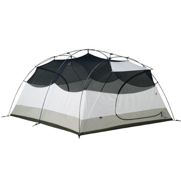 Sierra Designs Zia 4 Tent with Footprint and Gear Loft Image