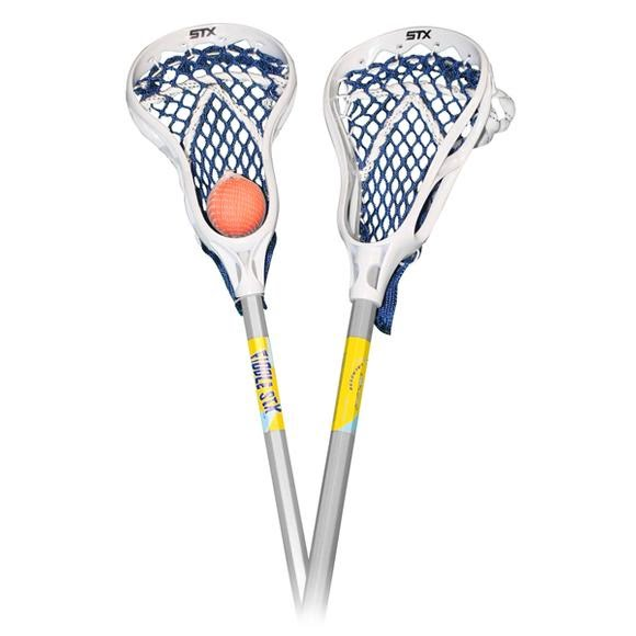Stx Fiddlestix Classic Mini Lacrosse Sticks, 2 Pack with Ball Image