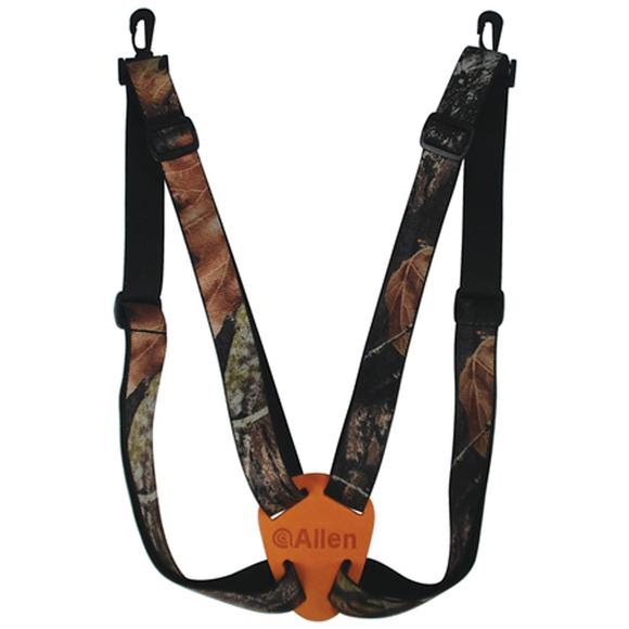The Allen Co 4 Way Adjustable Deluxe Binocular Strap (Camo) Image