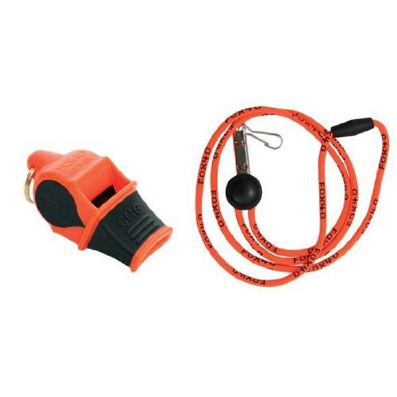 Fox 40 Sonik Blast CMG with Lanyard Whistle Image