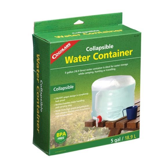 Coghlans Collapsible 5 Gallon Water Container Image