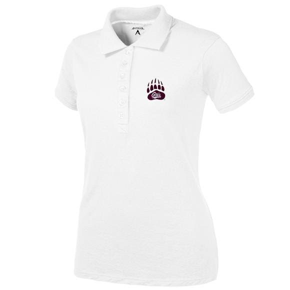 Antigua Women's U of M Griz Paw Spark S/S Polo Image
