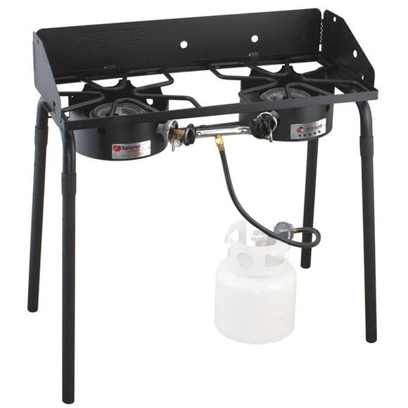Camp Chef Explorer 2 Burner Propane Stove Image