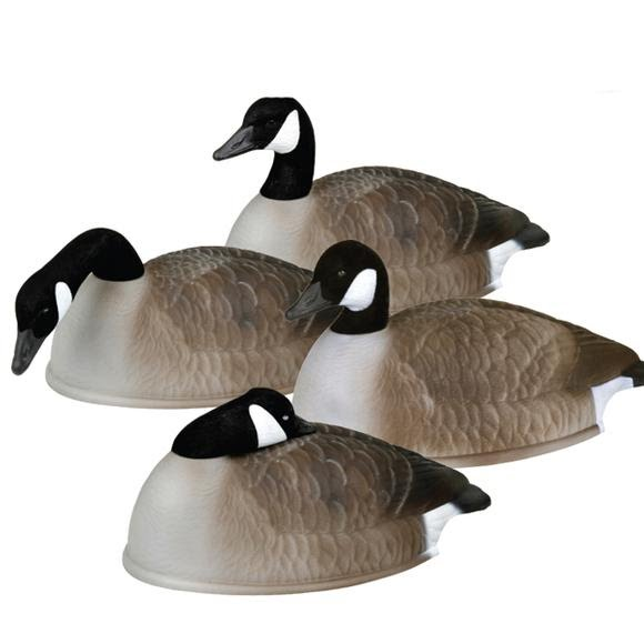 Flambeau 24 Inch Flocked Canada Goose Shell 12-Pack Image