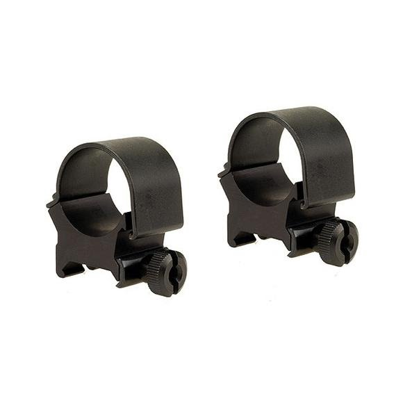 Weaver 1 Inch Matte Detachable Scope Mounting Rings Image