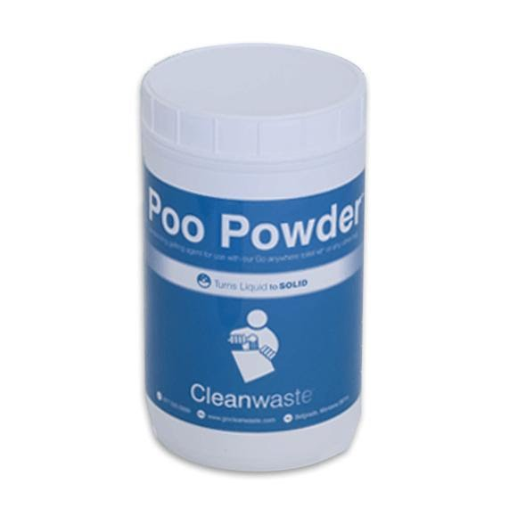 Cleanwaste Large Poo Powder Waste Treatment: 120 Uses Image
