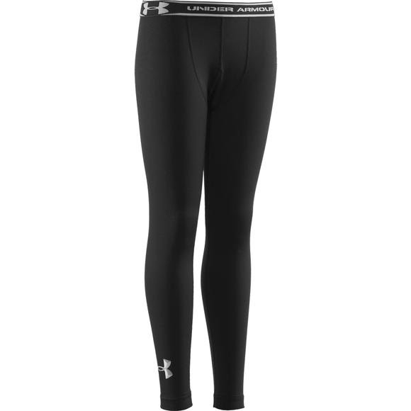 7763d4af40 Under Armour Youth Boys ColdGear EVO Fitted Baselayer Tights Image