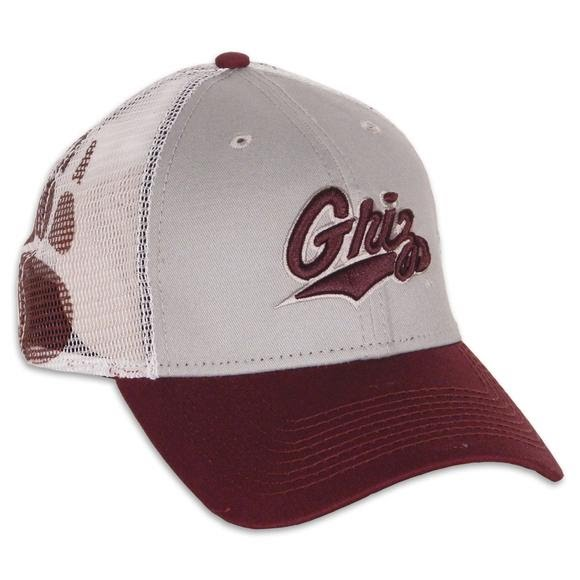 New Era Mens University of Montana Griz 9Forty Mesh Mode Trucker Hat