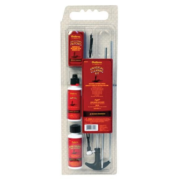 Outers 9mm/.380/.38/.357 Pistol Cleaning Kit Image