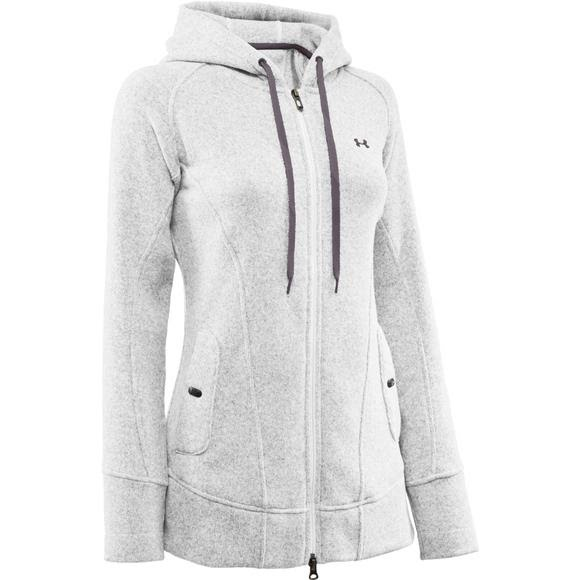 Under Armour Mountain Women s Wintersweet Full Zip Hoody Image 2439eb17ed