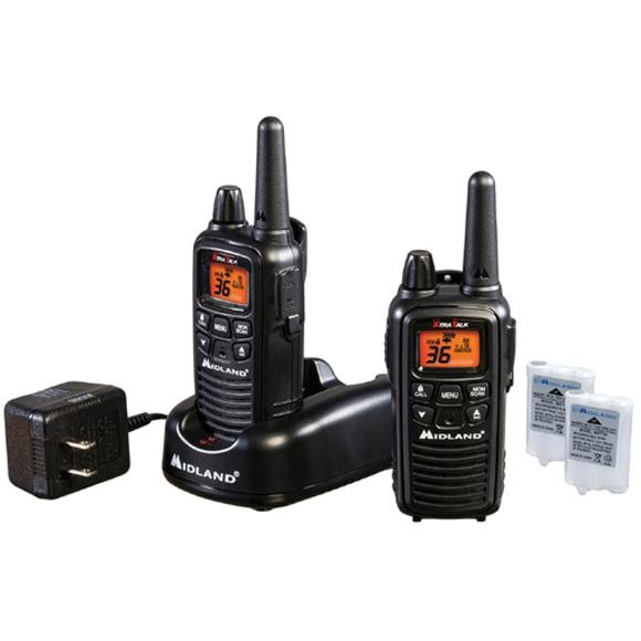 Midland LXT600VP3 36-Channel GMRS 30 Mile Range Two-Way Radio Image