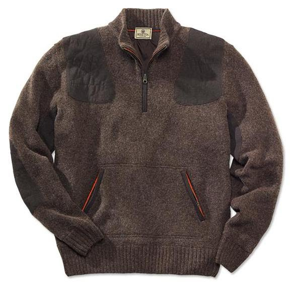 Fleece Lined Wool Sweater