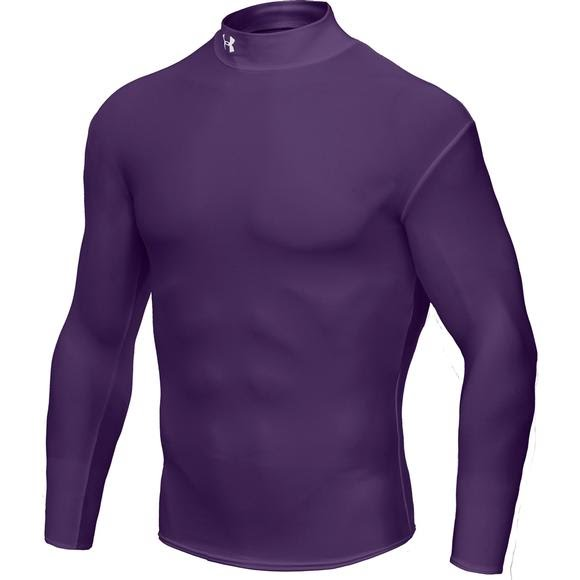 Under Armour Mens Cold Gear L/S Mock Image