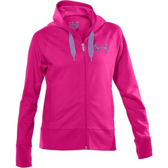 Under Armour Womens Light Charged Cotton Storm Full Zip Image